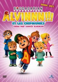 Alvinnn !!! et les chimpmunks s1 v3 - dvd