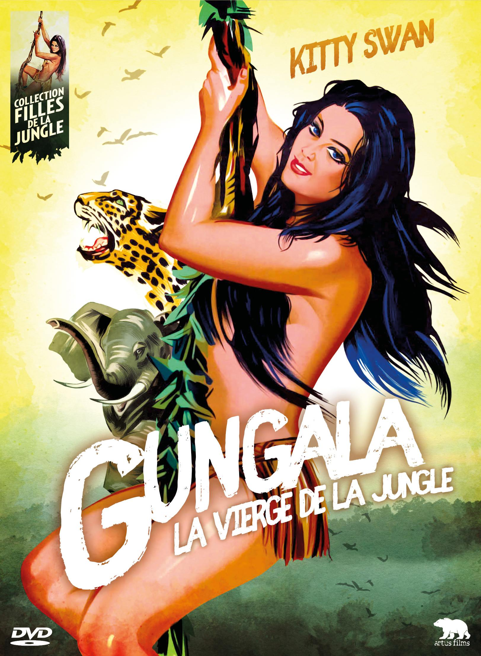 Gungala, la vierge de la jungle - dvd