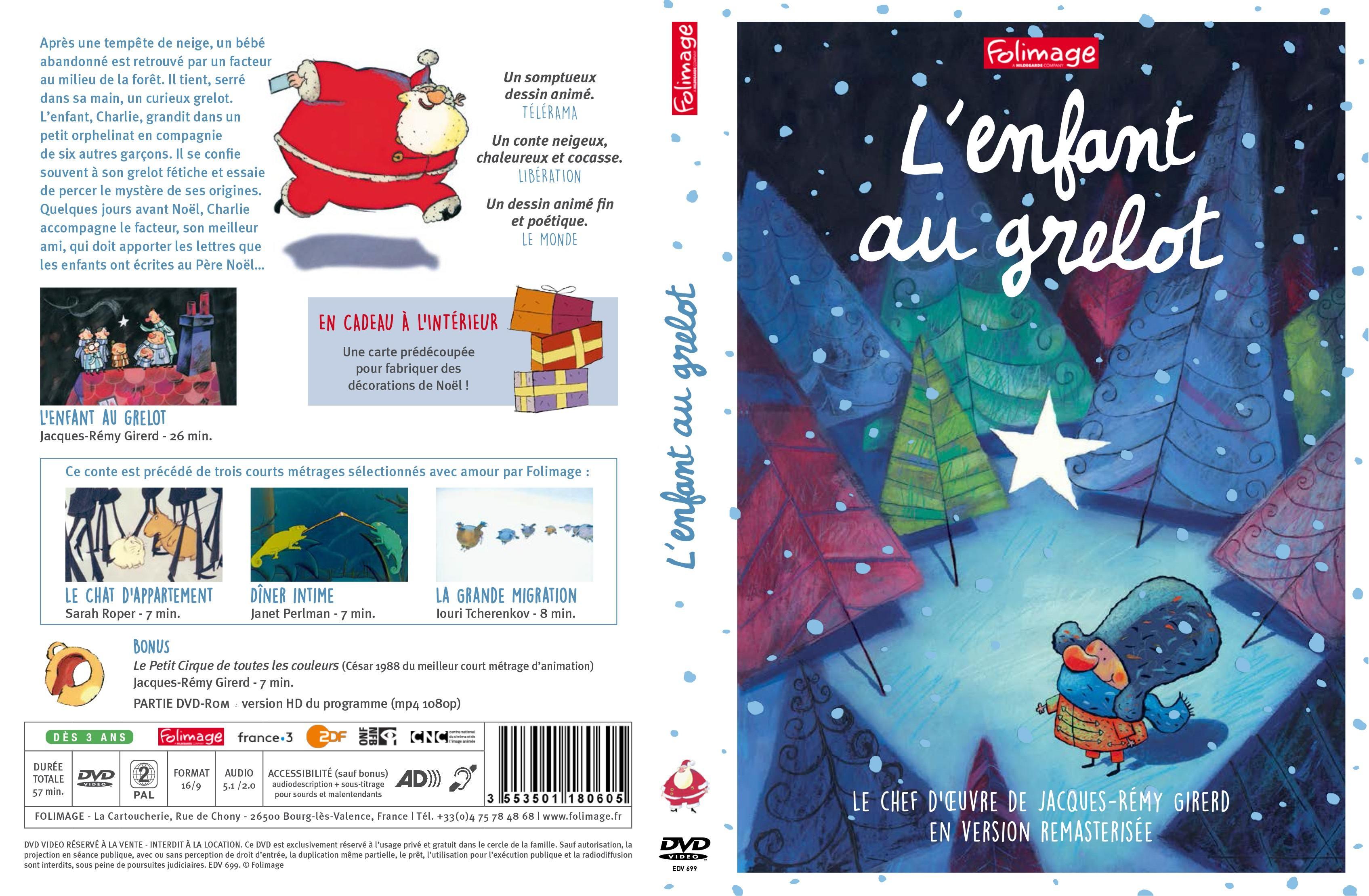 Enfant au grelot (l') -dvd