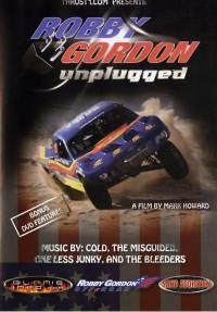 Robby gordon - dvd  unplugged