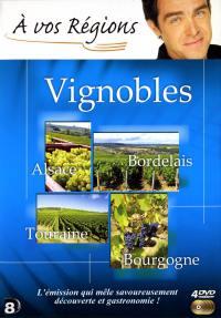 A vos regions vignobles - 4 dvd