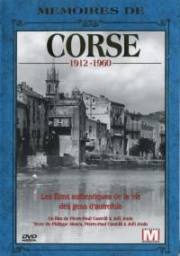 Memoires de corse - dvd