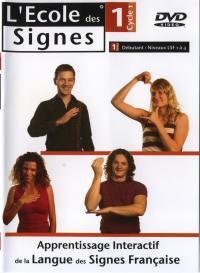 L'ecole des signes niv 1 -dvd  niv. lsf 1 a 4