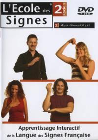 L'ecole des signes niv 2 - dvd  niv. lsf 5 a 8