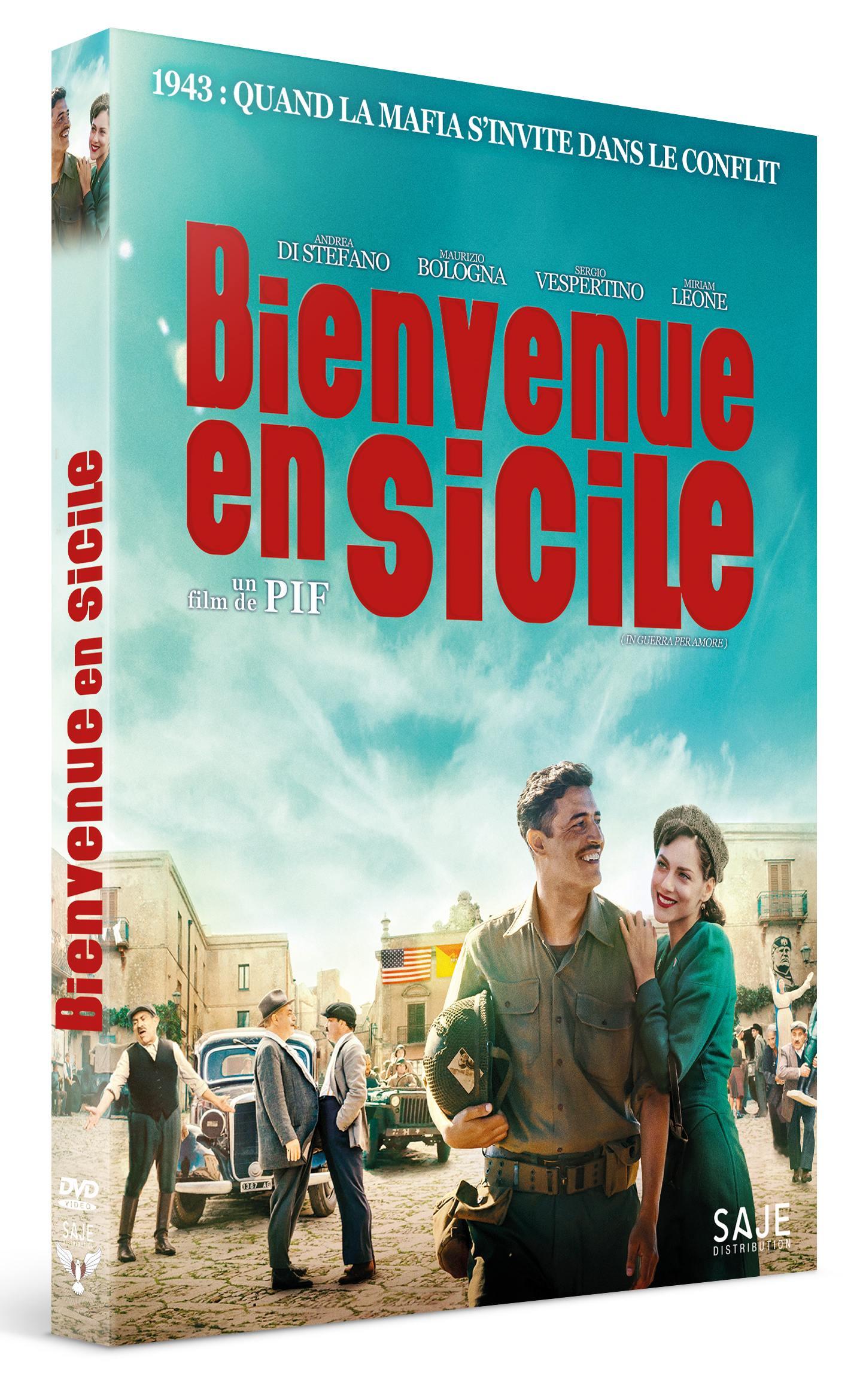 Bienvenue en sicile - dvd