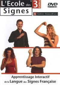 L'ecole des signes niv 3 - dvd  niv. lsf 9 a 12