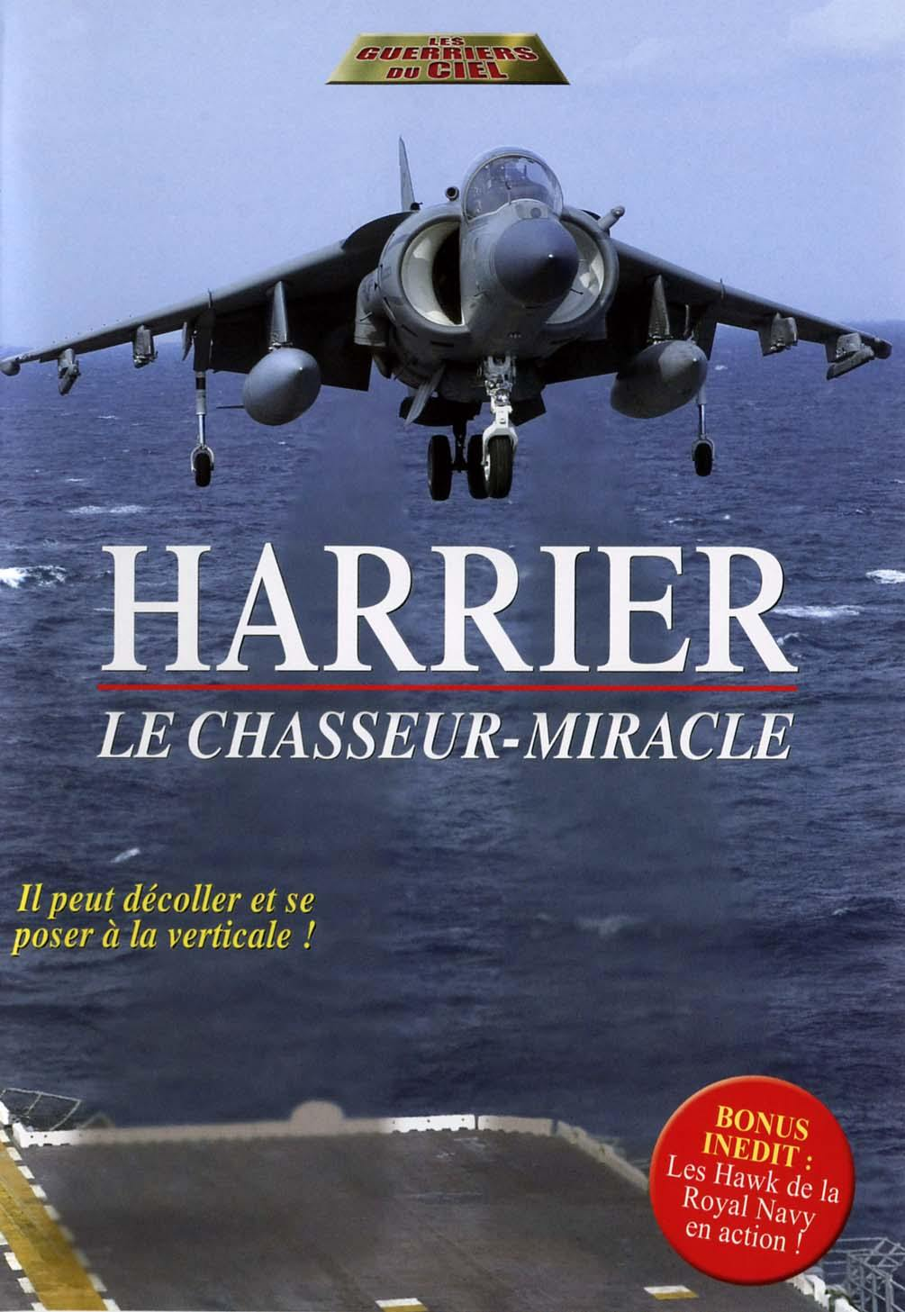 Harrier - dvd  le chasseur miracle