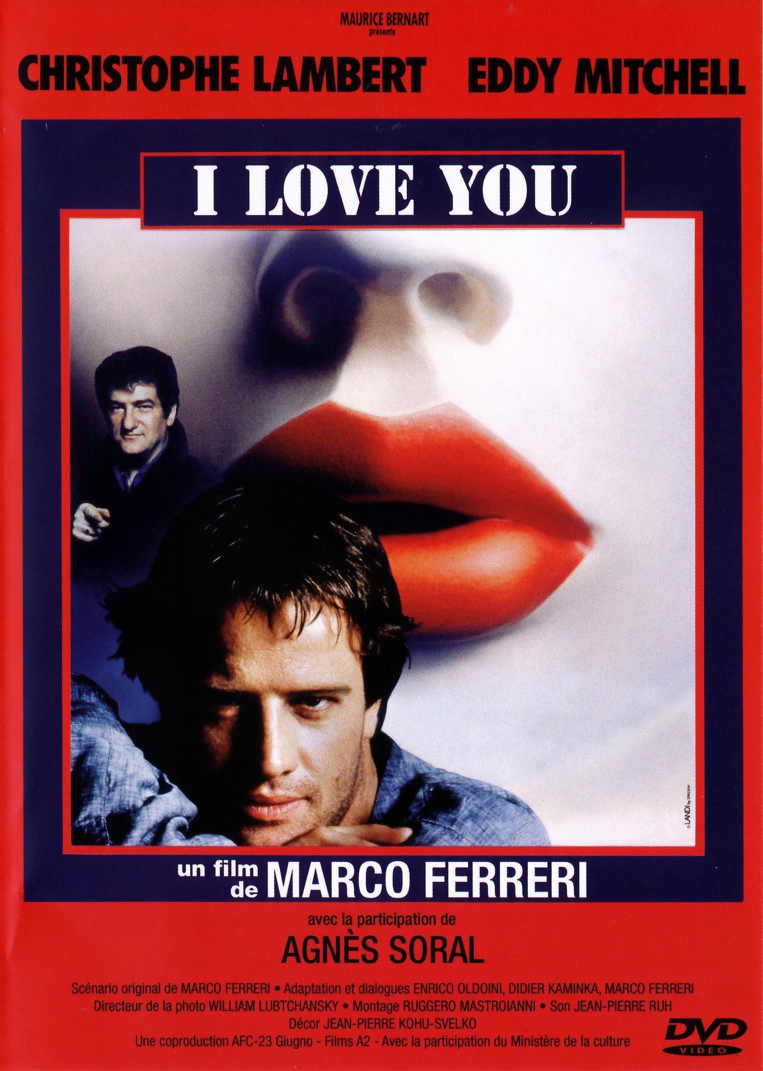 I love you - dvd