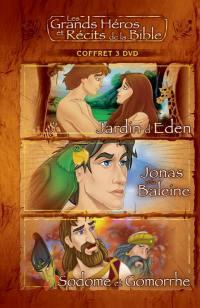 Coffret 1 - jardin d'eden/ jonas / sodome - 3 dvd