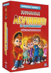 Alvinnn !!! et les chimpmunks - integrale s.1  - 4 dvd