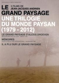 Jj andrien - le grand paysage, une trilogie du monde paysan - 3 dvd+liv