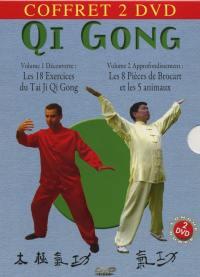 Coffret qi gong 2 dvd