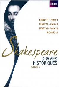 Shakespeare drames historiques - vol 1 - 7dvd