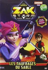 Zak storm v2 - les naufrages du sable - dvd