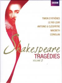 Shakespeare - tragedies vol 2 - 5 dvd