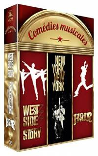 Comedies musicales - west side story + hair + new york new york - dvd