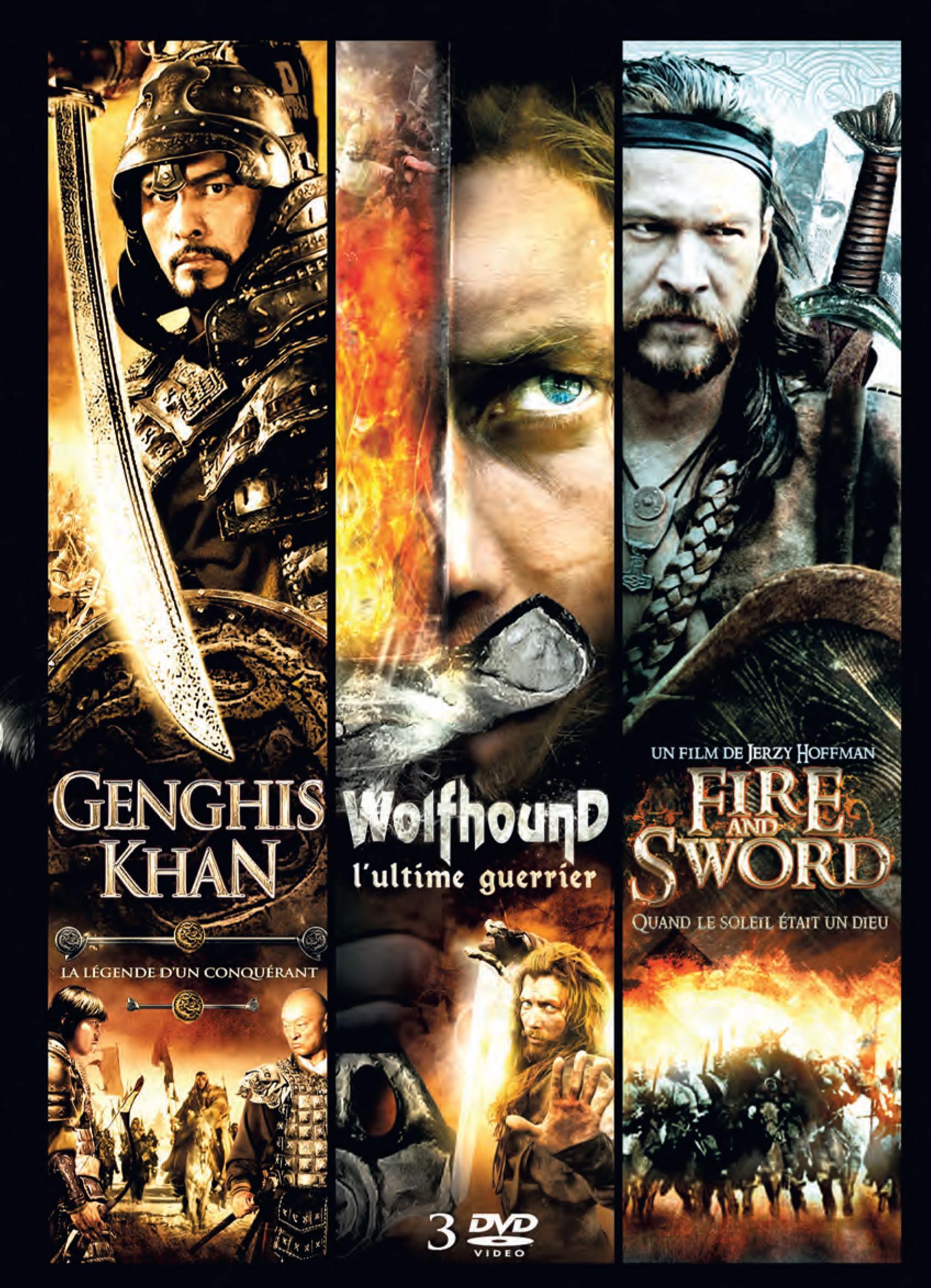 Coffret epique - 3 dvd