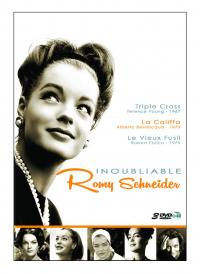 Coffret inoubliable romy schneider - 3 dvd