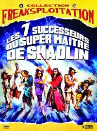 7 successeurs du super maitre de shaolin (les) - dvd