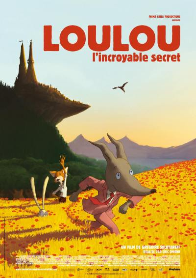 Loulou l incroyable secret - dvd