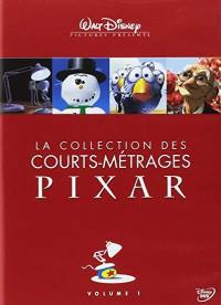 Collection des courts metrages pixar - v1 - dvd