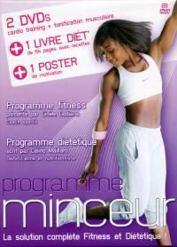Programme minceur - 2 dvd+livre+poster
