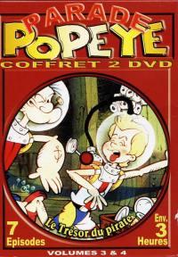 Coffret popeye 3&4 - 2dvd