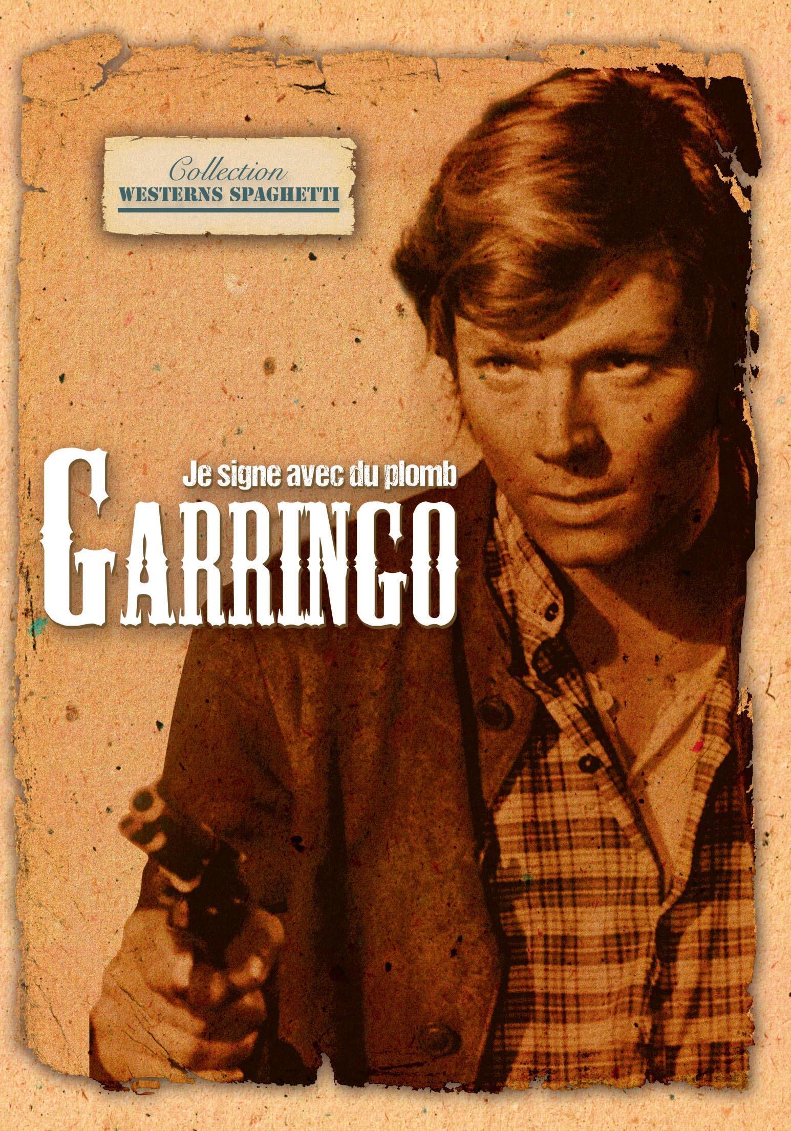 Je signe avec du plomb... garringo - dvd