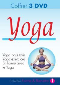 Ypt -  yoga - coffret3 dvd