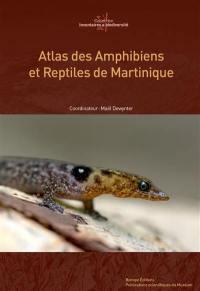 Atlas des amphibiens et reptiles de Martinique