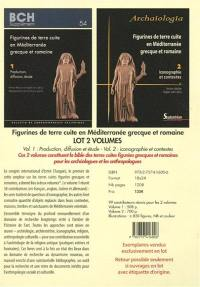 Figurines de terre cuite en Méditerranée grecque et romaine : lot 2 volumes