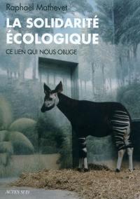 La solidarité écologique