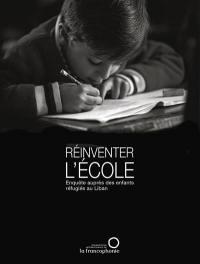 Réinventer l'école : enquête auprès des enfants réfugés au Liban