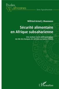 Sécurité alimentaire en Afrique subsaharienne
