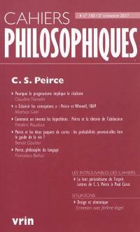 Cahiers philosophiques. n° 150, C.S. Peirce