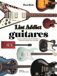 List addict guitares