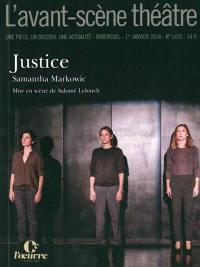 Avant-scène théâtre (L'). n° 1435, Justice