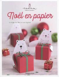 Noël en papier