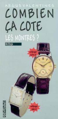 Combien ça cote, les montres ?