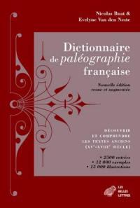 Dictionnaire de paléographie française