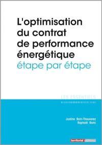 L'optimisation du contrat de performance énergétique étape par étape