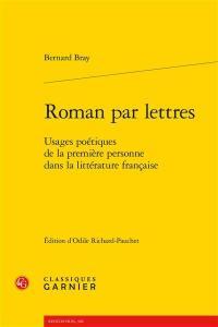 Roman par lettres