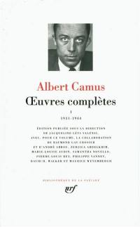 Oeuvres complètes. Volume 1, 1931-1944