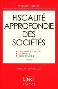 Fiscalité approfondie des sociétés