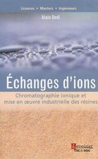 Echanges d'ions