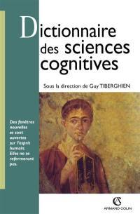 Dictionnaire des sciences cognitives