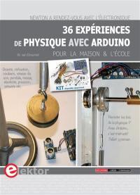 36 expériences de physique avec Arduino