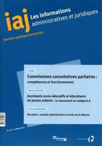 Informations administratives et juridiques. n° 10 (2017)