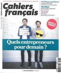 Cahiers français. n° 403, Quels entrepreneurs pour demain ?