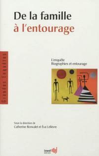 De la famille à l'entourage : l'enquête Biographies et entourage